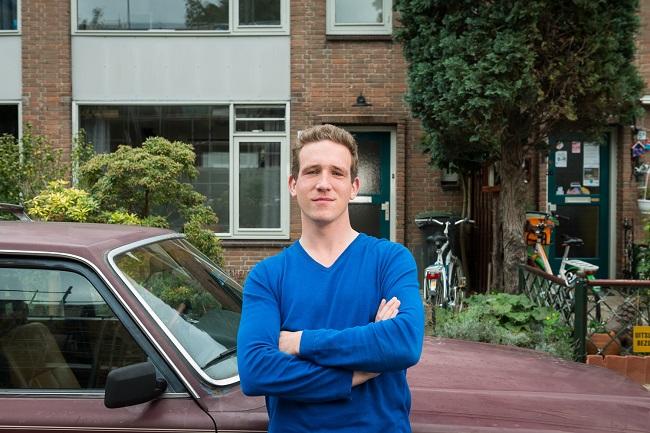 Kasper Teeven kocht een eigen huis in Eindhoven