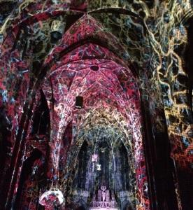Nieuw tijdens Glow 2014 is de speciale voorstelling Transcedent Flow van Casa Magica in de Augustijnenkerk.
