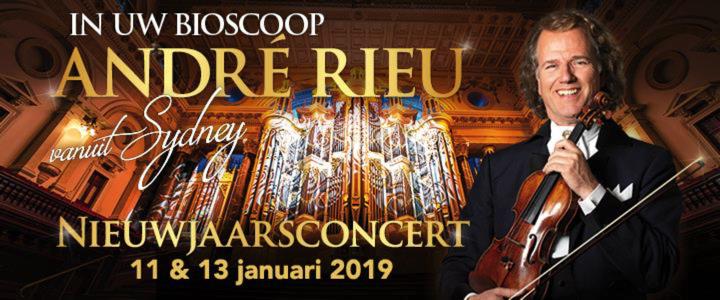 André Rieu in Cinemas Nieuwjaarsconcert 2019