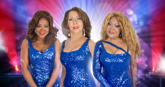 The Three Degrees optreden