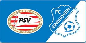 Logo vrouwenvoetbal PSV en FC Eindhoven
